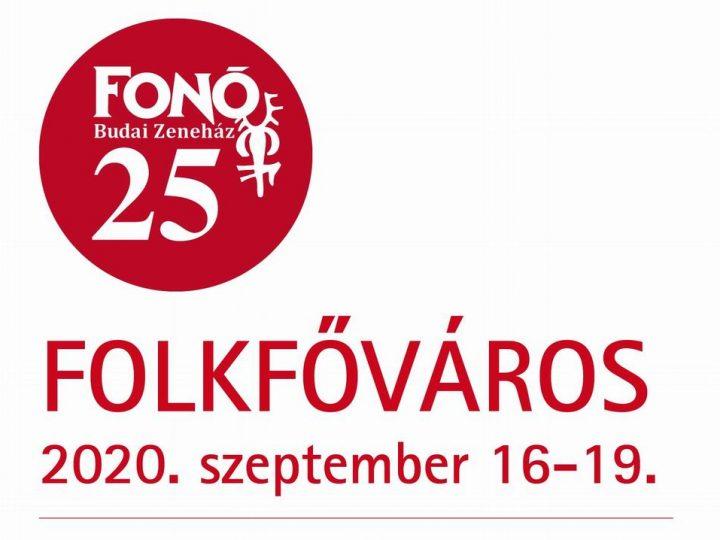 Folkfőváros a Fonó-jubileumon