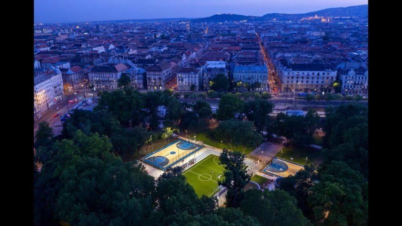 Liget Budapest – megnyílt a Városligeti Sportcentrum