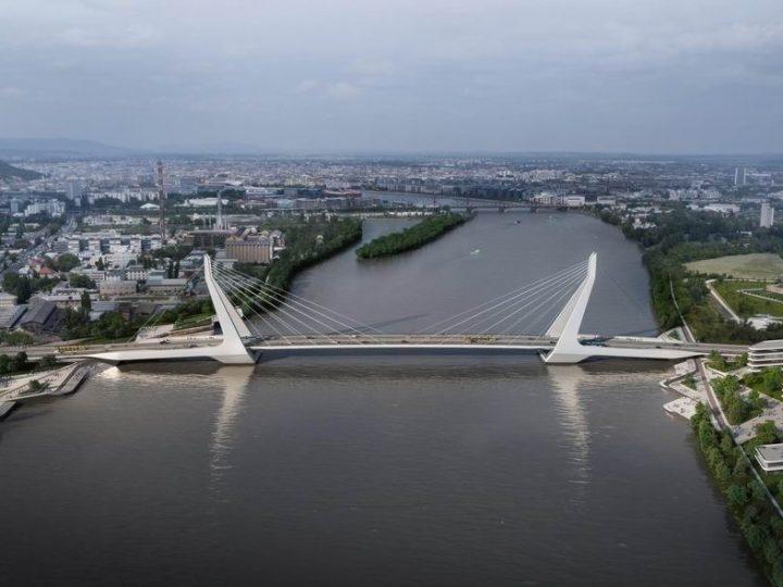 Megindul az új dunai híd villamosvonalának tervezése